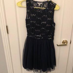 Navy Homecoming Dress from Macys